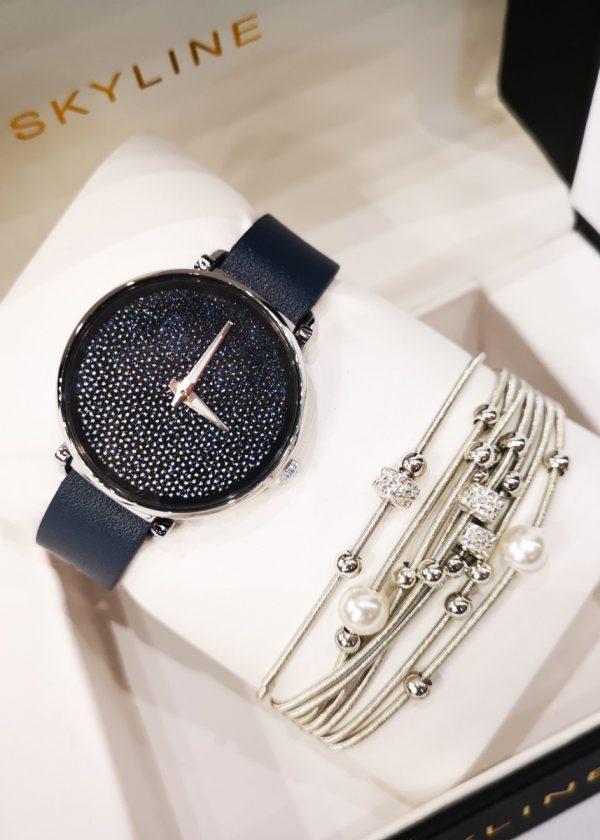Conjunto de reloj con pulsera