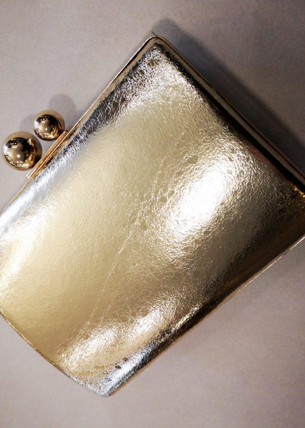 Clutch dorado/plateado