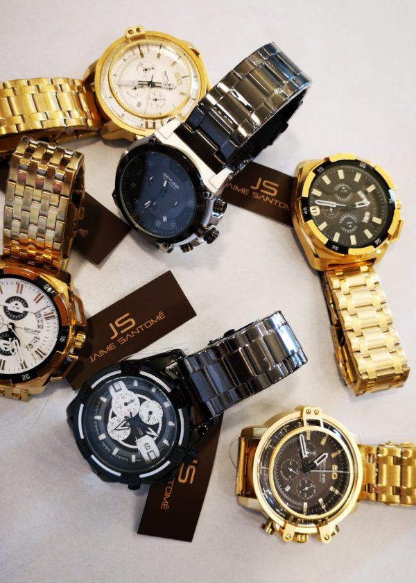 Reloj acero inoxidable