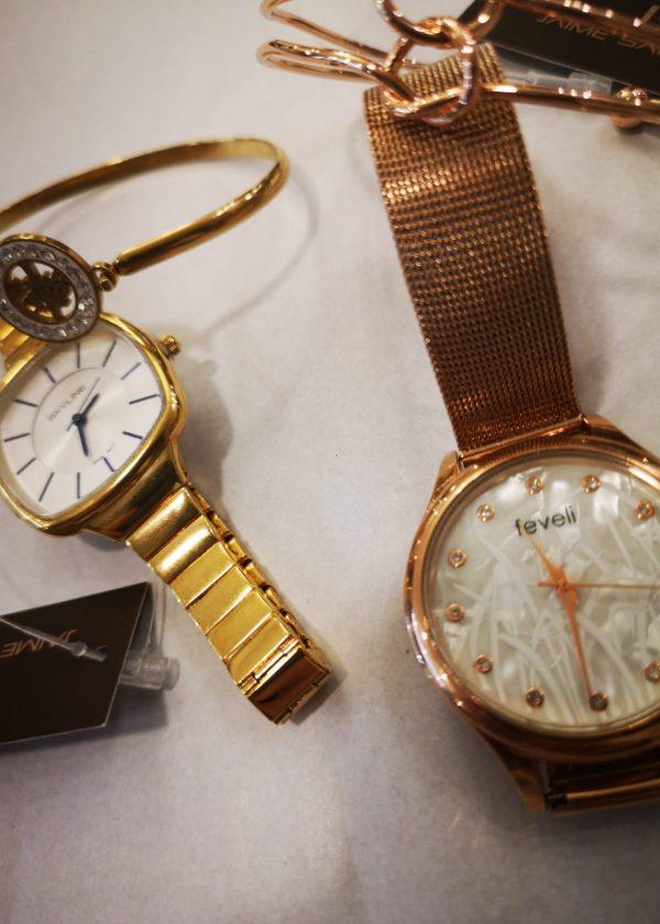 Conjunto reloj-pulsera