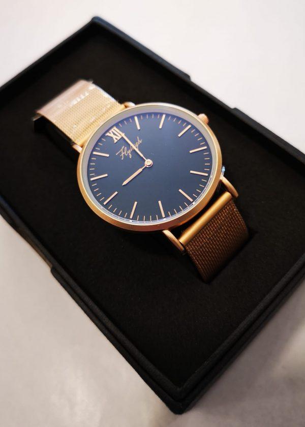 Reloj malla acero