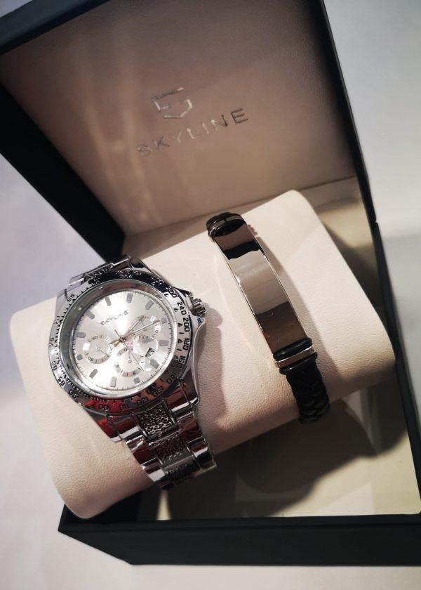 Conj. reloj/pulsera