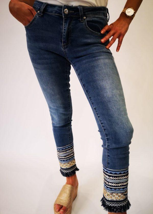 Jeans elástico