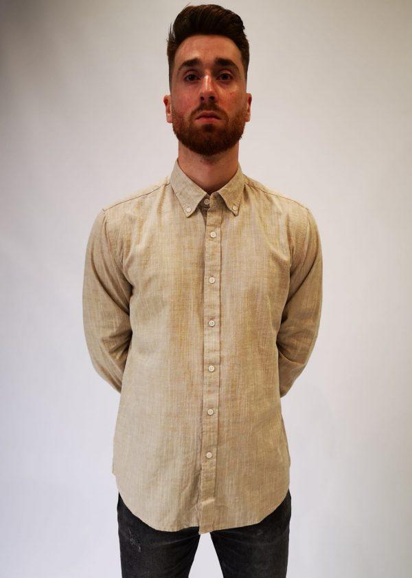 Camisa punto de lino