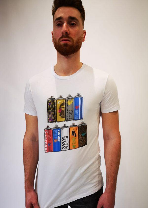 Camiseta spray