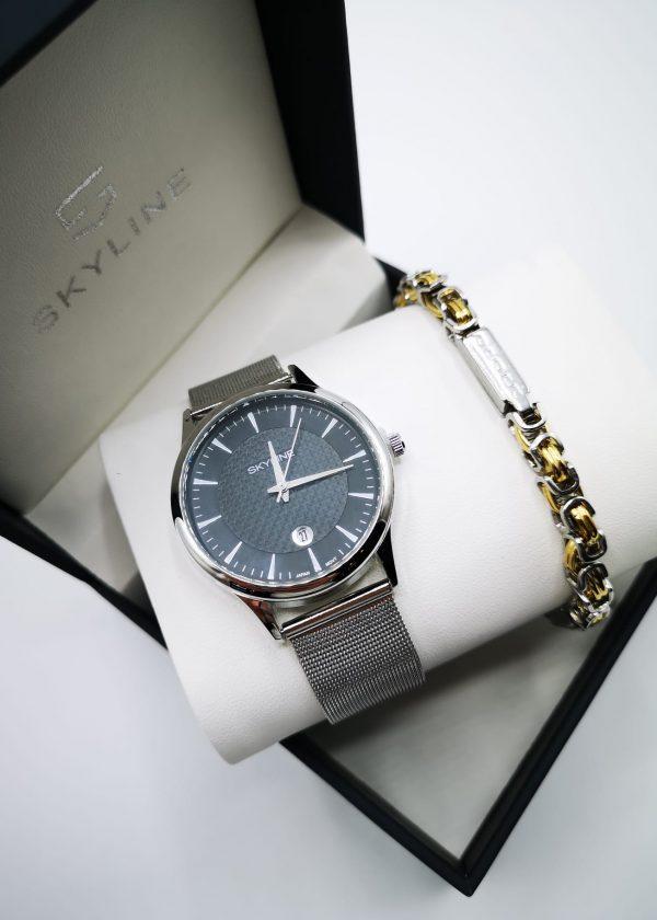 Conjunto de reloj-pulsera