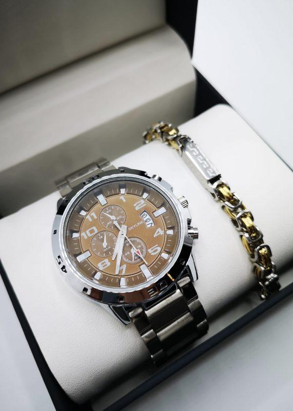 Conjunto reloj con pulsera