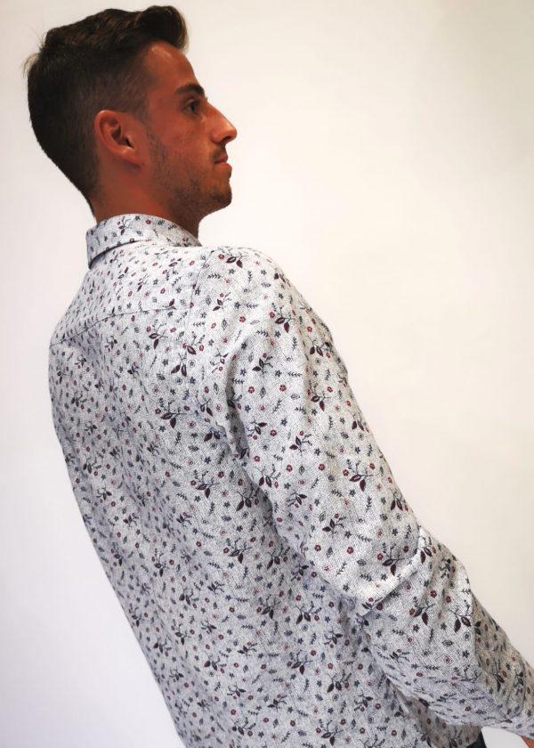 Camisa estampada de flor