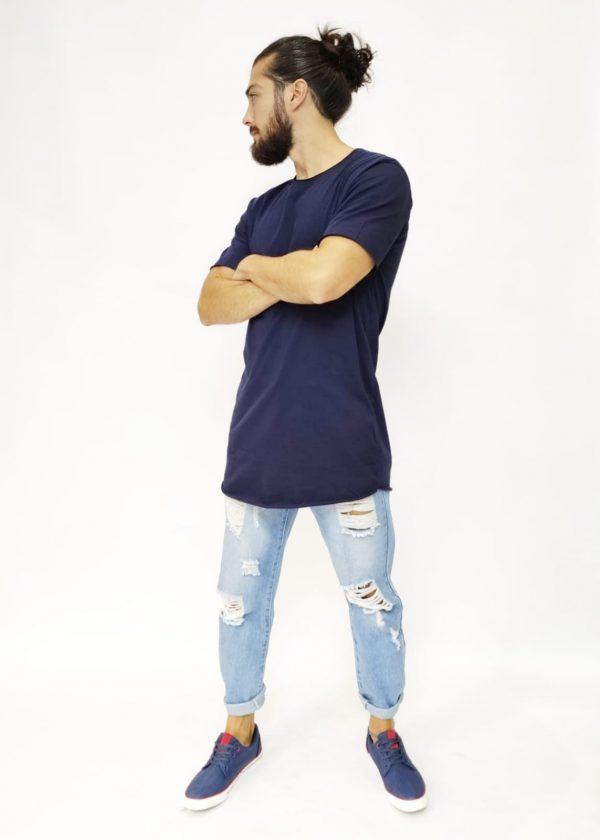 Camiseta extra larga
