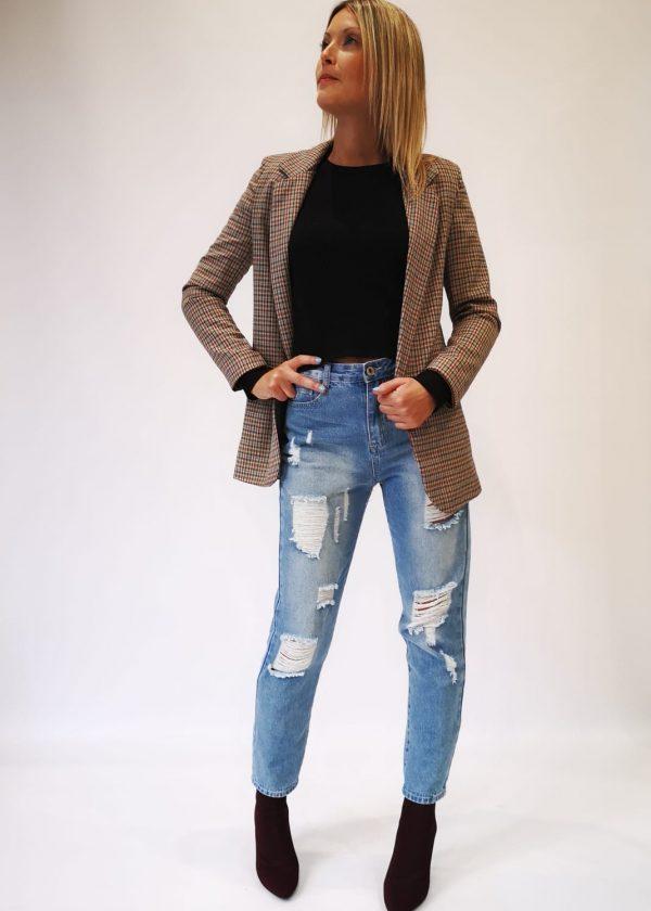 Jeans desgastado