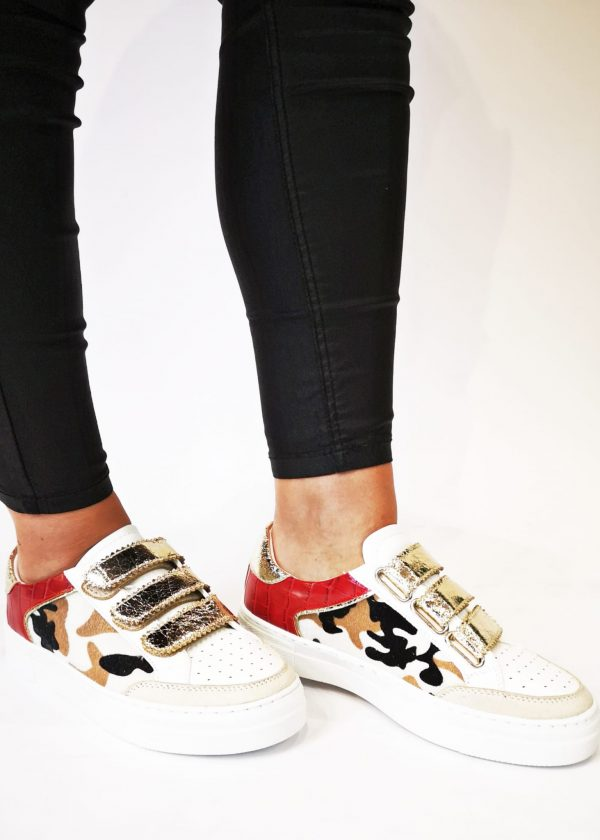 Zapatillas velcro mujer