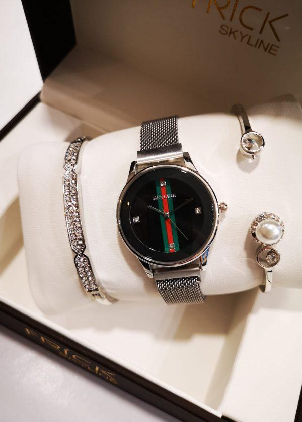 Conj. reloj y 2 pulseras PL