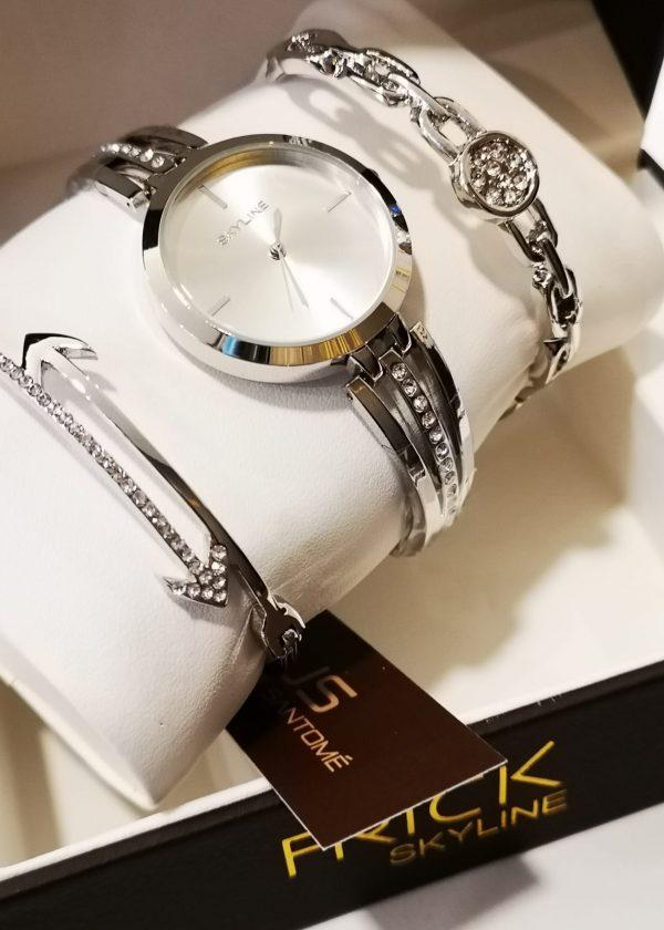 Conj. reloj + 2 pulseras PL