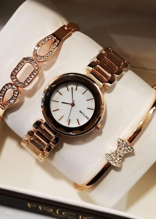 Conj. Reloj y 2 Pulseras