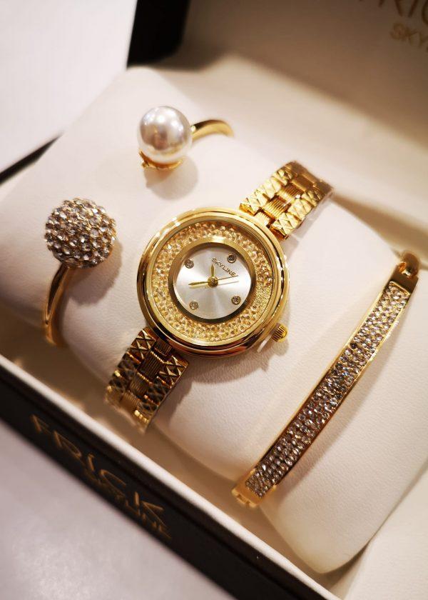 Conj. reloj + jgo. 2 pulseras