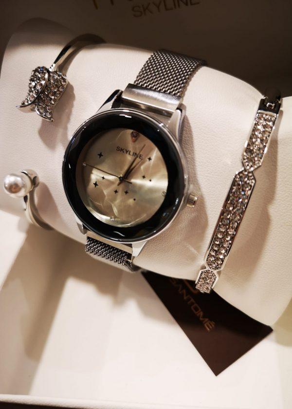 Conj. reloj + 2 pulseras P