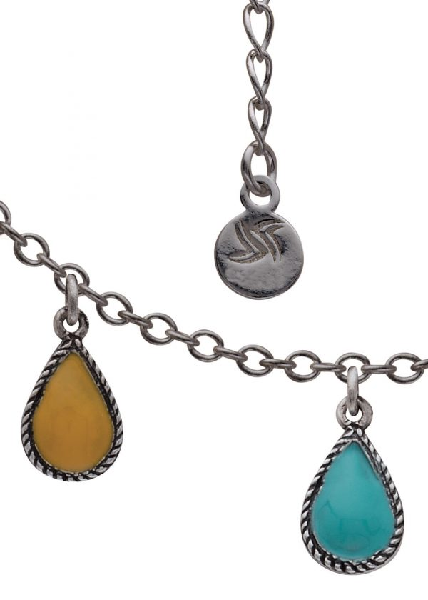 Pulsera yellow and turquoise