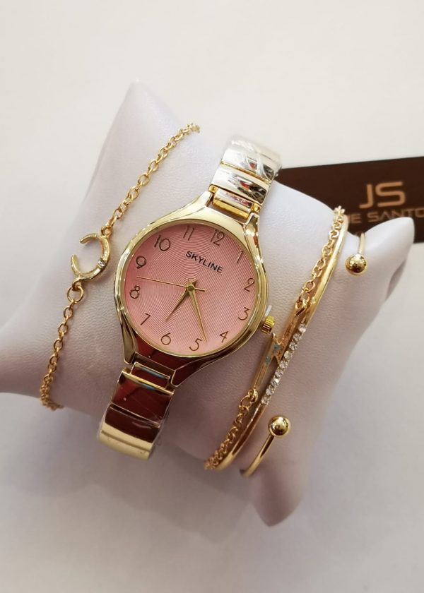 Conjunto reloj/pulseras mujer