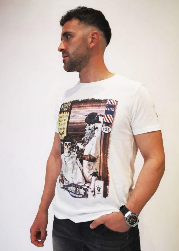 Camiseta barber