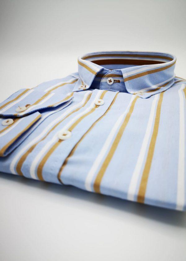 Camisa rayas bicolor