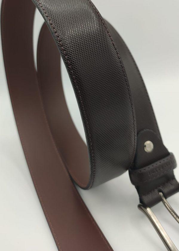 Cinturón piel panel